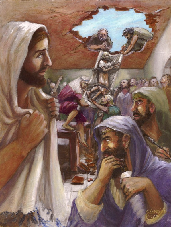 Testing Our Faith Matthew 9 1 8 Jesus And Paralyzed Man