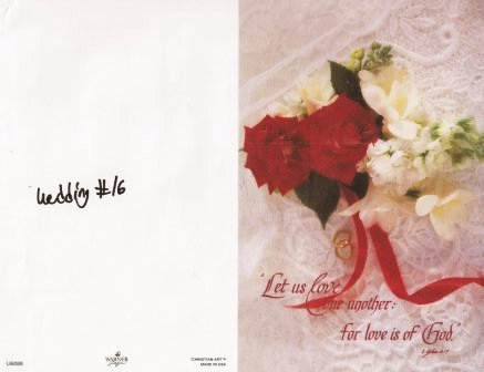 wedding program covers page 3